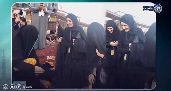 بالفيديو.. ظهور الأميرات بنات الملك فيصل في حفل بوابة الدرعية