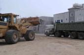 فرق نظافة الطائف تزيل 6700 طن من مخلفات البناء والهدم