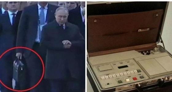 بالفيديو.. عرض أسرار حقيبة بوتين التي تلازمه باستمرار