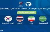 قرعة كأس آسيا تضع «أخضر الصالات» مع المجموعة الرابعة