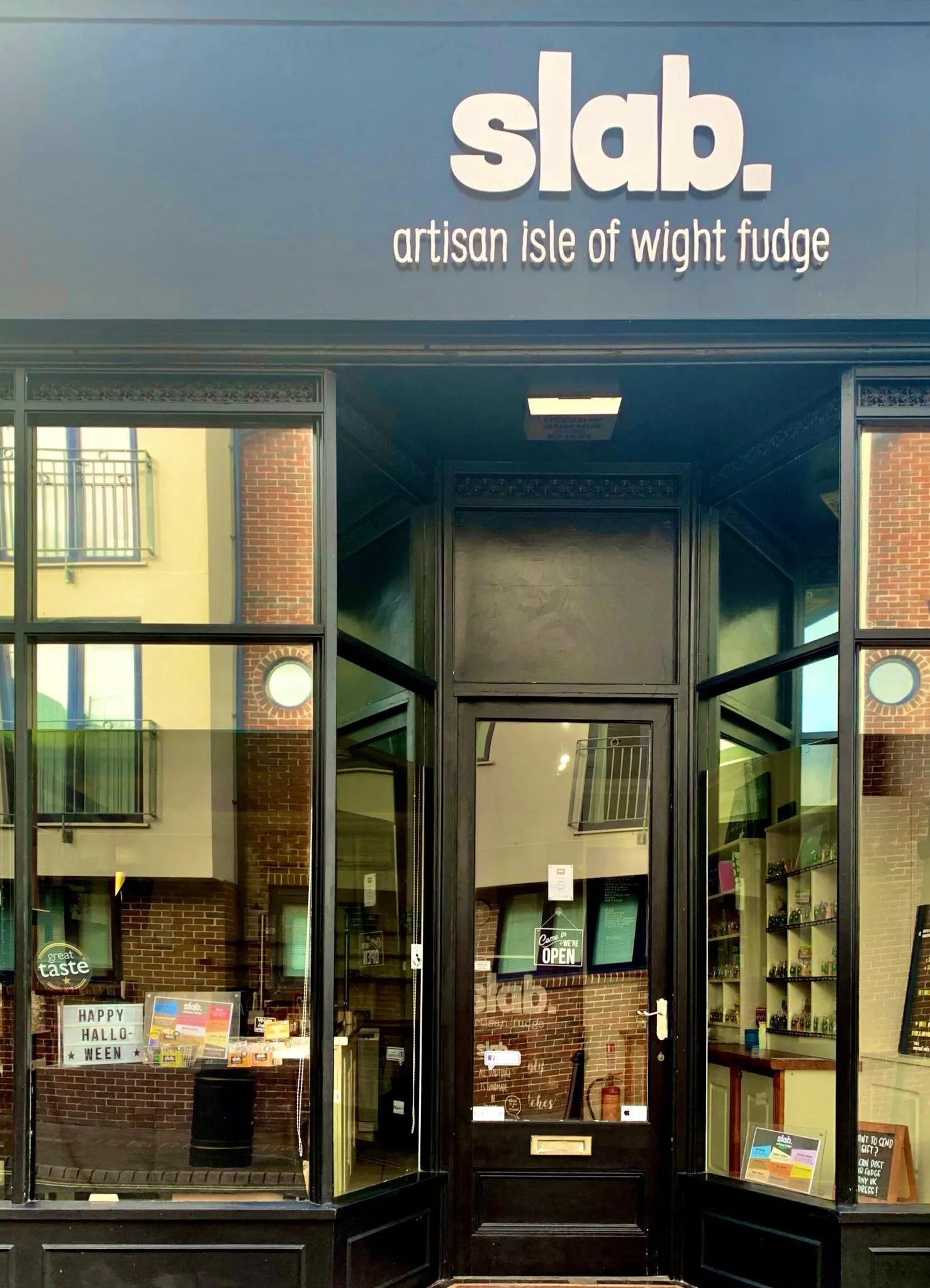 Slab Artisan Fudge - Shop Front Image