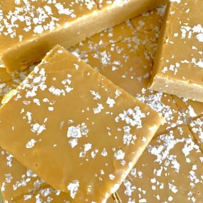 Slab Artisan Fudge - Unwrapped Sea Salted Caramel