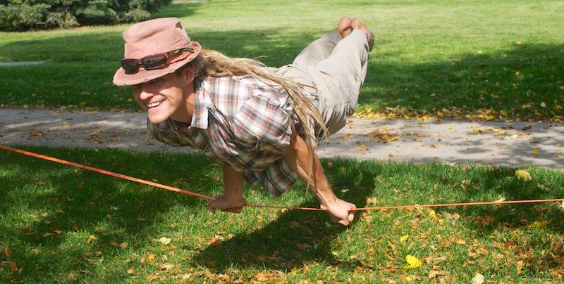 slackline challenge slackrobats yogaslackers slacklarsen heather larsen lizasouras pokosha clothing slack tech jason and chelsey magnets june slackline yoga eline beginner slackline