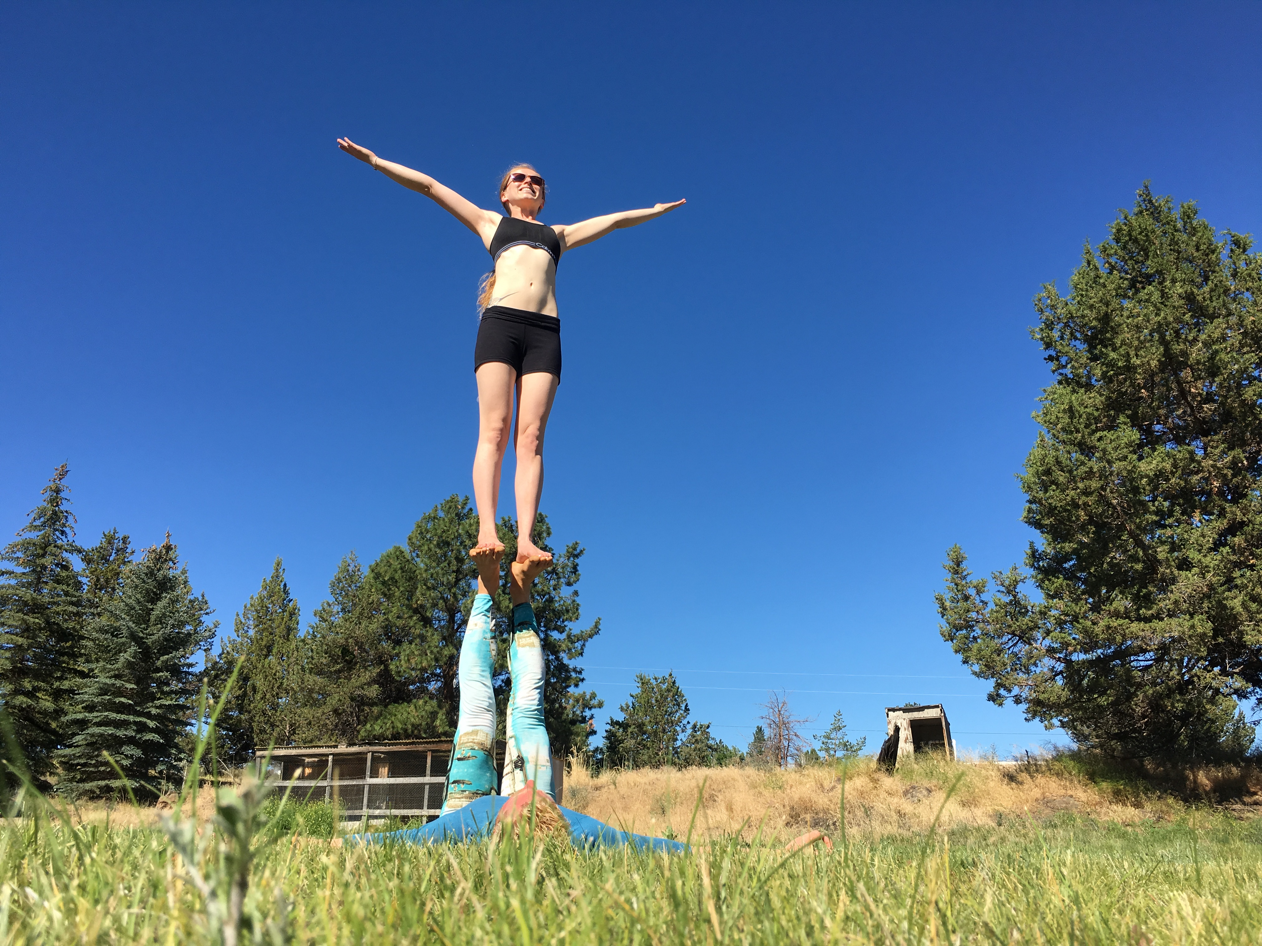 The History of AcroYoga: Origin & Roots