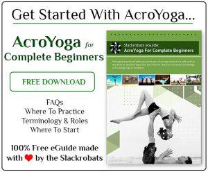 Free AcroYoga eGuide - SLACKROBATS