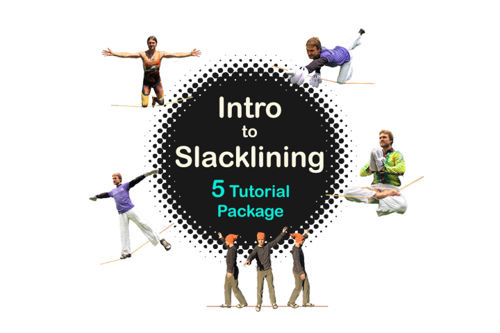 Intro to Slacklining - 5 Lesson Package! Slackrobats Academy slackline instruction