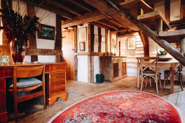 Granary Barn - Living Area