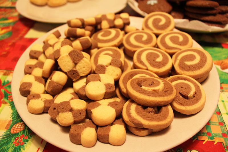 Sušienkové farebné koláčiky, sladký život, vianočné pečenie