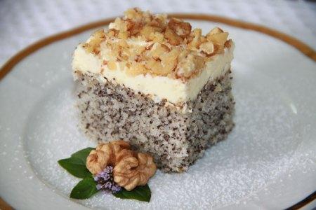 makový koláč s krémom, Makový koláč, rýchly hrnčekový koláč
