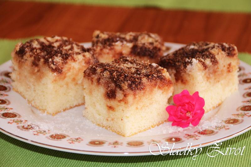 rafaelo koláč kokosový