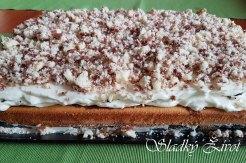 oreo tvarohový koláč