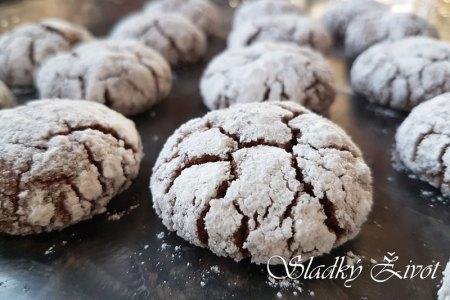 crinkles - čokoládové popraskané sučienky