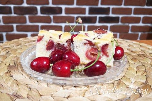 Bublanina s čerešňami