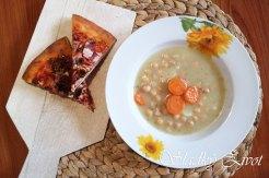 cícerová polievka, sladký život, recepty, polievka zo strukovín