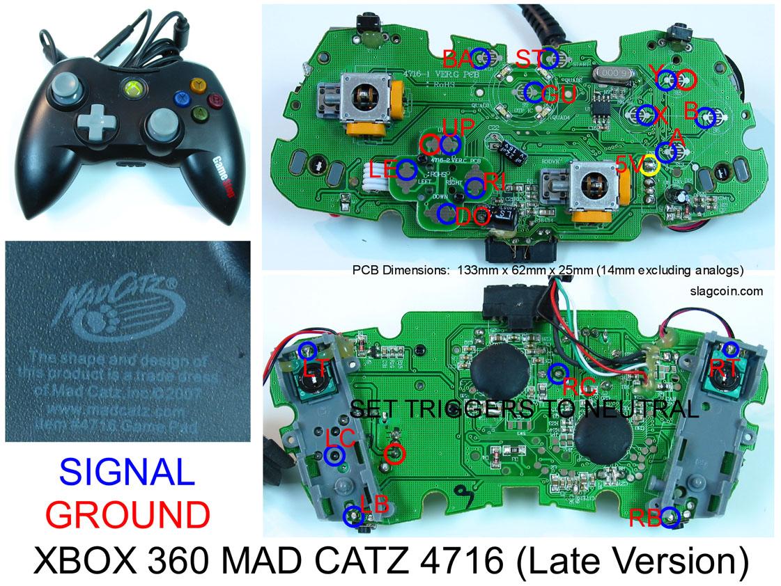 Madcatz 360 Pad Hack? — Shoryuken