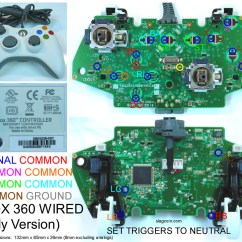 Xbox 360 Controller Wire Diagram Isuzu Rodeo Radio Wiring Gaming Gadgets And Mods Original