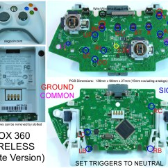 Xbox 360 Controller Circuit Board Diagram Phone Junction Box Wiring Gaming Gadgets And Mods Original