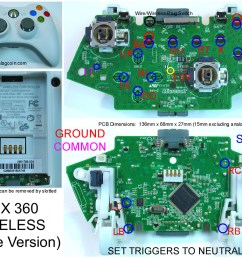 gaming gadgets and mods xbox 360 and original xbox 360 controller wiring diagram xbox controller to usb wiring diagram [ 1189 x 959 Pixel ]
