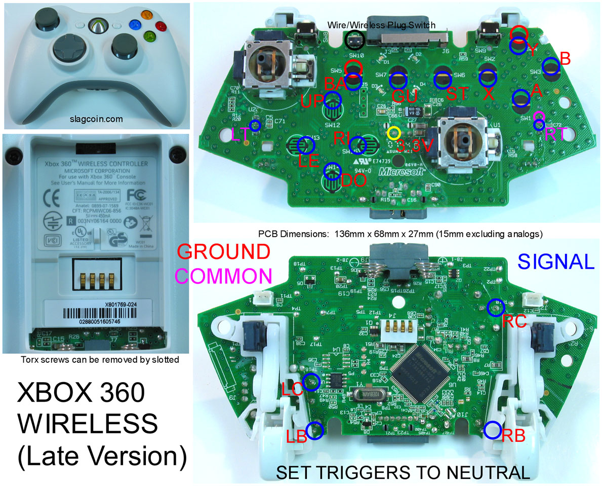 xbox 360 controller wire diagram porsche 997 pcm wiring gaming gadgets and mods original