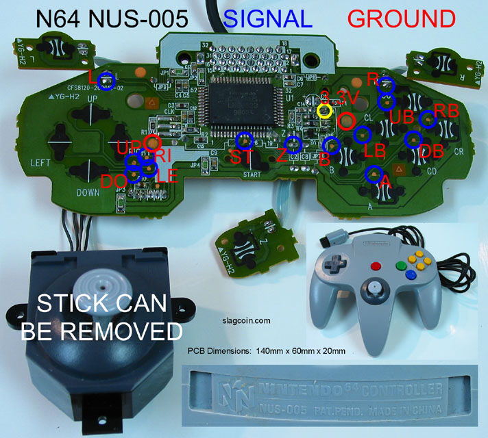 n64 controller wiring diagram