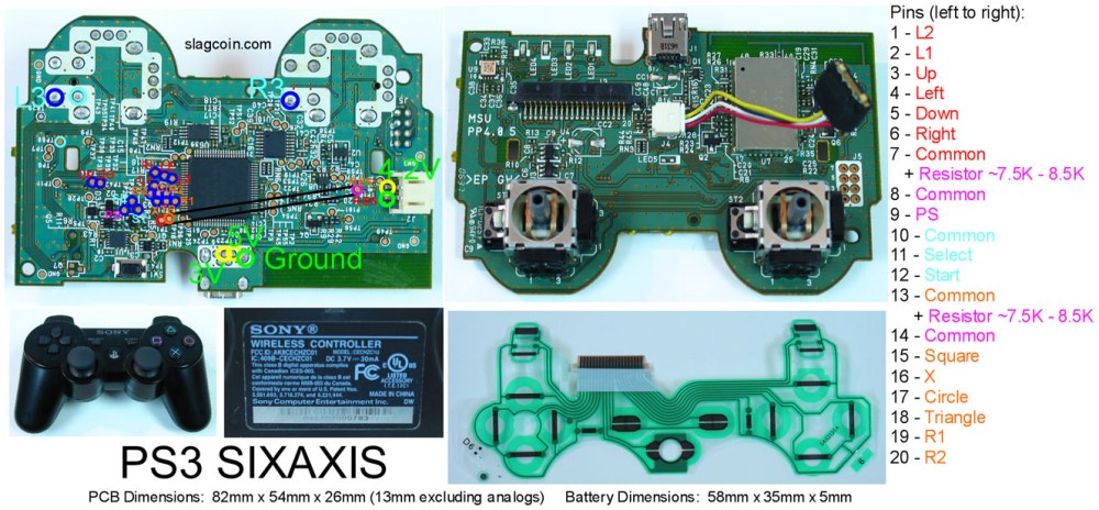 medium resolution of ps3 to xbox 360 controller wiring diagram wiring