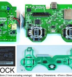 http www slagcoin com joystick pcb diagrams ps3 diagram3 jpg [ 1322 x 609 Pixel ]