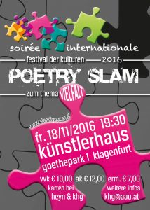 Flyer Poetry Slam