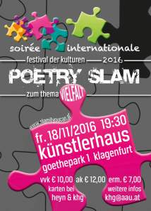 Flyer Poetry Slam