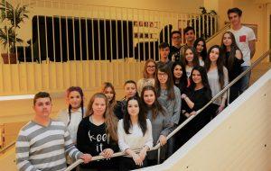 SchülerInnen der 2BHH der HAK Wolfsberg
