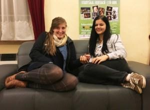 Adina und Sabrina