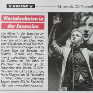 Krone, 25. November 2015