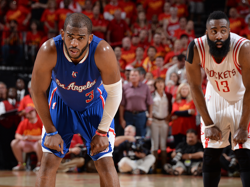 Image result for chris paul to rockets