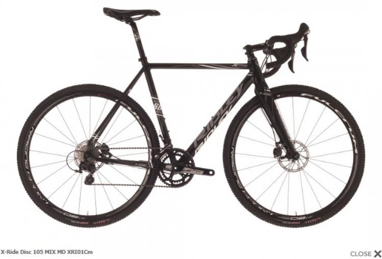 Ridley X Ride 105 Mix Hydraulic Disc Bike 2017