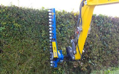 Using the HC Series Hedgecutters
