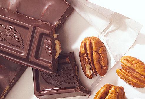 chocola voor betere concentratie