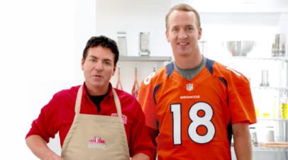 Papa John Schnatter & Peyton Manning