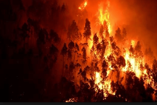 Iberian Peninsula hellfires - Heatwaves