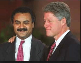 President Clinton & Secretary Ron Brown - Article: Impeachment