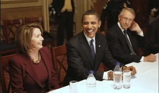 Good Democrats - Obama, Reid, Pelosi