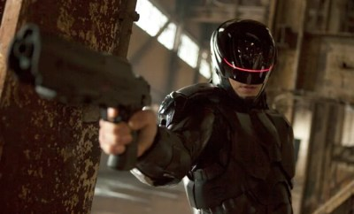 Joel Kinnaman plays the eponymous cyborg in the remake of RoboCop
