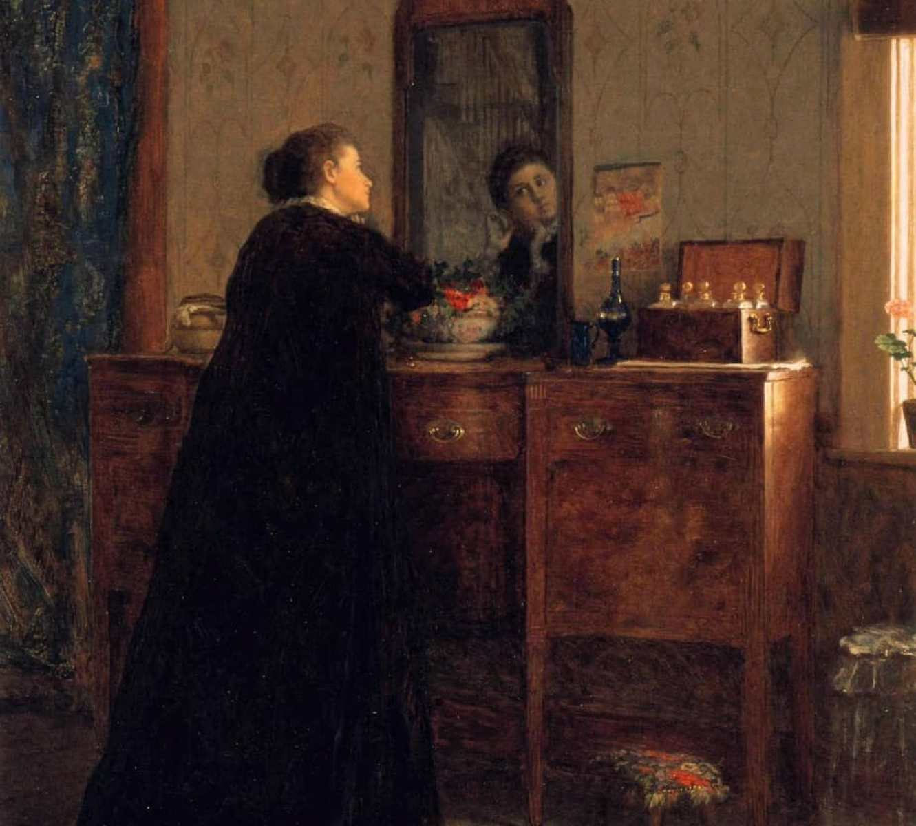 Eastman Johnson - The Toilet