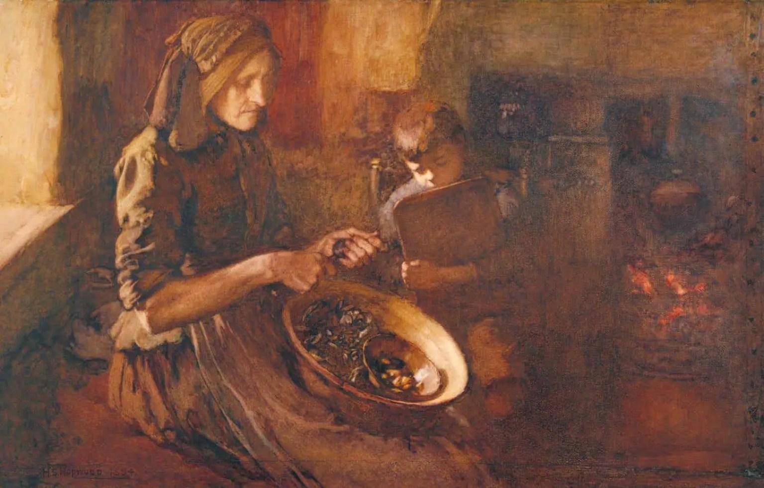 Industry 1894 by Henry Silkstone Hopwood 1860-1914