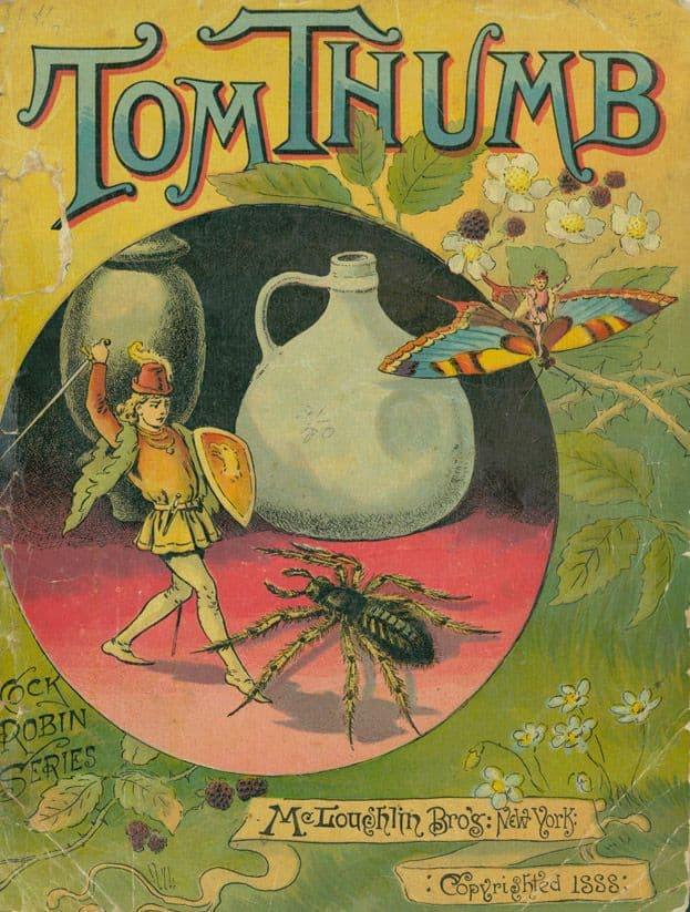 a 1888 edition of Tom Thumb food cannibalism
