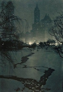 The White Night by Adolf Fassbender