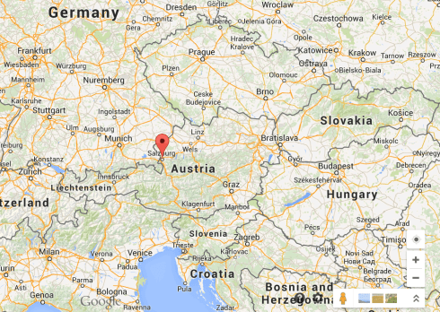 Salzberg Austria