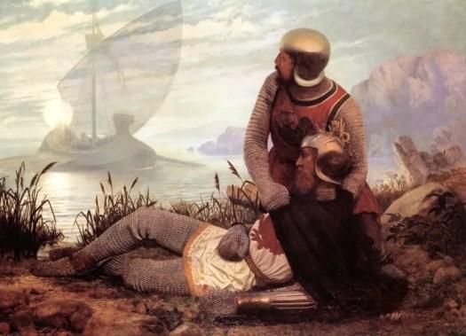 John Mulcaster Carrick - Le Mort d'Arthur