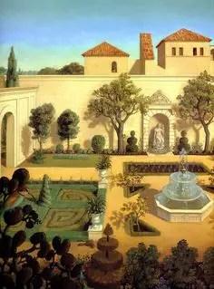 Rapunzel Courtyard