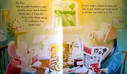 The Pork-Fowlers Breakfast Scene