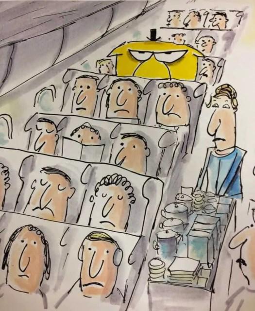 Mr Chicken On The Plane