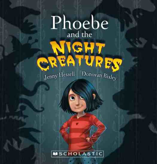 Phoebe and the Night Creatures Cover